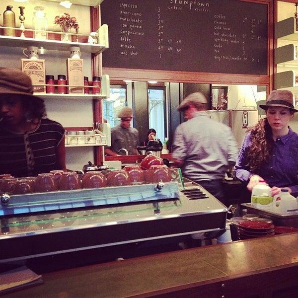 Photo taken at Stumptown Coffee Roasters by Yujiro N. on 3/1/2013