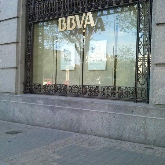 Bbva oficina banco en la dreta de l 39 eixample for Oficinas bbva albacete