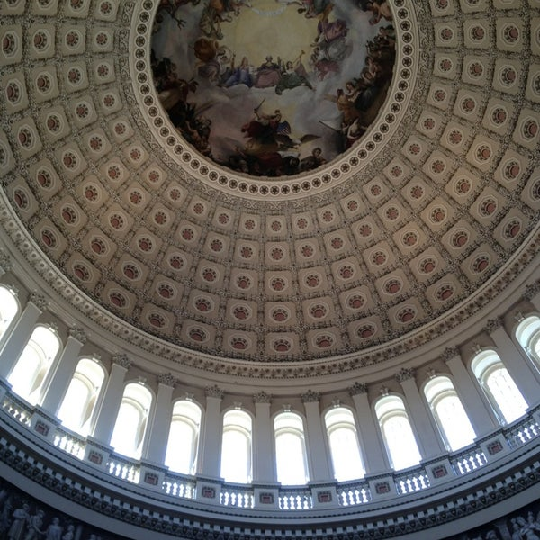 Photo taken at United States Capitol by Ali R. on 4/6/2013