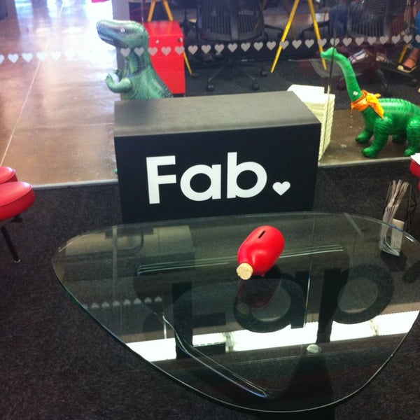 Photo taken at Fab.com by Jessica B. on 8/15/2013