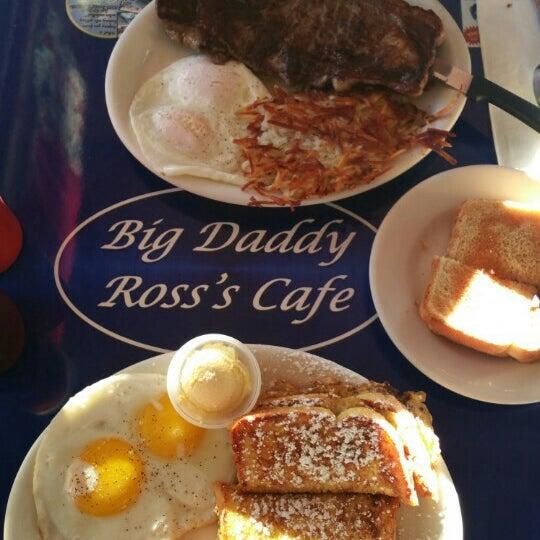Big Daddy Ross Cafe Menu