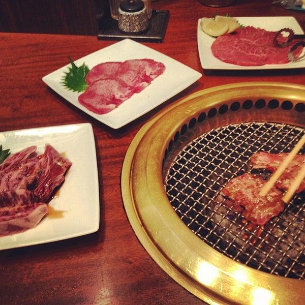 7/28/2012に文武 東.がびーふてい 中目黒店で撮った写真