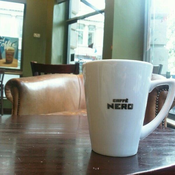 Photo taken at Caffè Nero by Dörte on 6/22/2016
