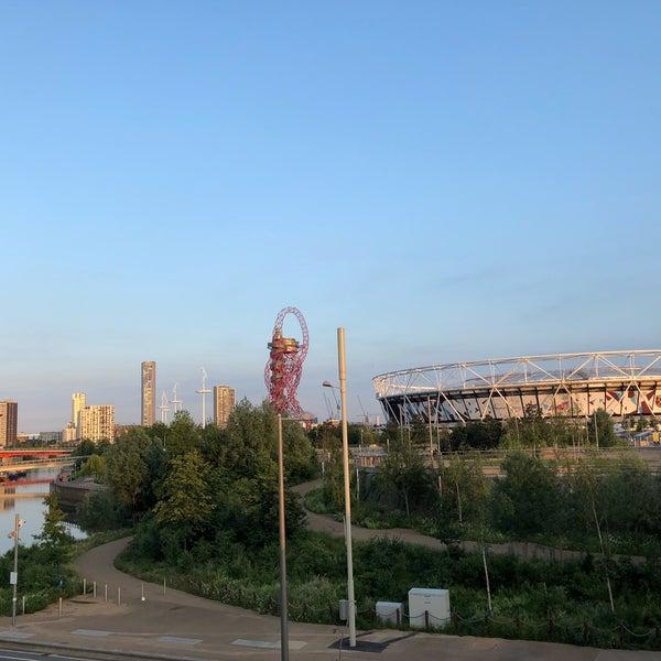 6/3/2018 tarihinde Ozan K.ziyaretçi tarafından Queen Elizabeth Olympic Park'de çekilen fotoğraf