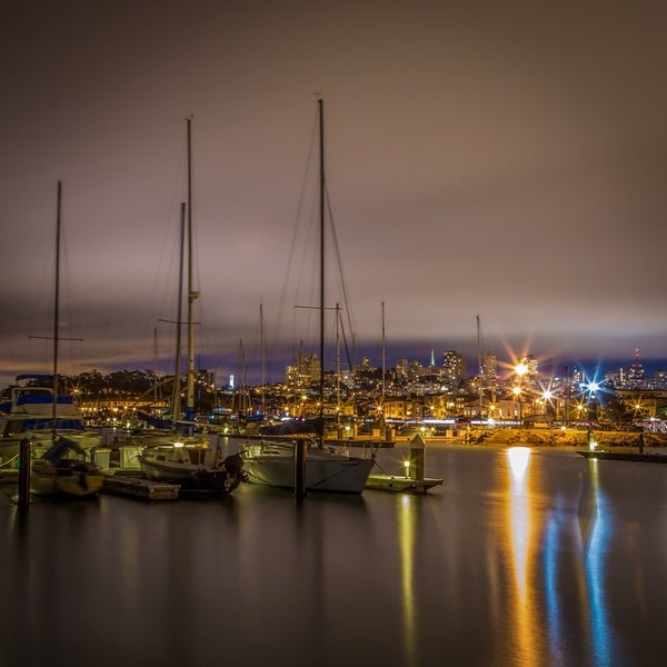 Photo taken at Golden Gate Yacht Club by Rob R. on 8/21/2014
