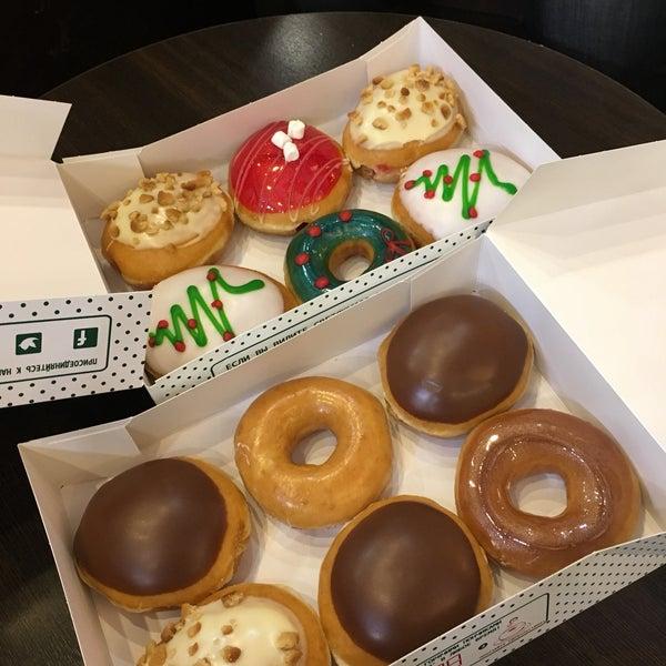 Снимок сделан в Krispy Kreme пользователем Мария В. 1/20/2017