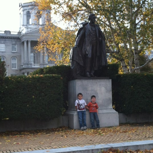 Photo taken at New Hampshire State House by Melissa F. on 10/21/2012