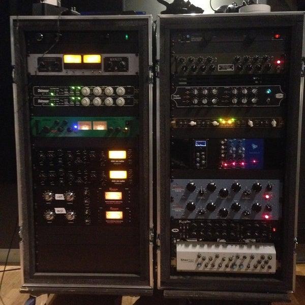 Photo taken at Post Pro Recording Studio by Matt H. on 3/23/2015