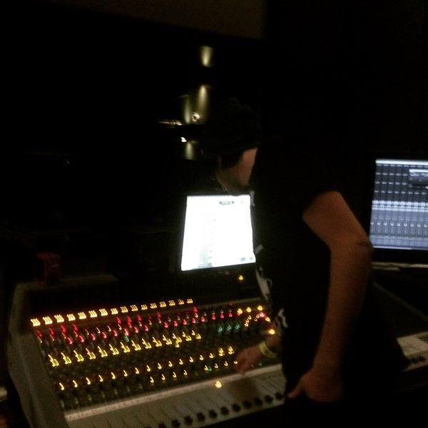 Photo taken at Post Pro Recording Studio by Matt H. on 2/15/2015