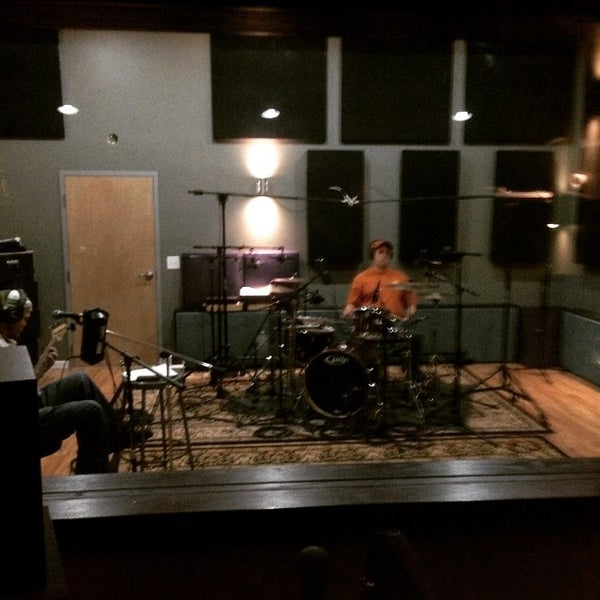 Photo taken at Post Pro Recording Studio by Matt H. on 3/7/2015
