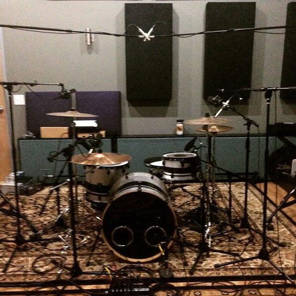 Photo taken at Post Pro Recording Studio by Matt H. on 4/17/2015