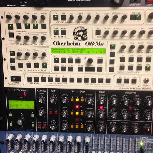 Photo taken at Post Pro Recording Studio by Matt H. on 2/16/2015