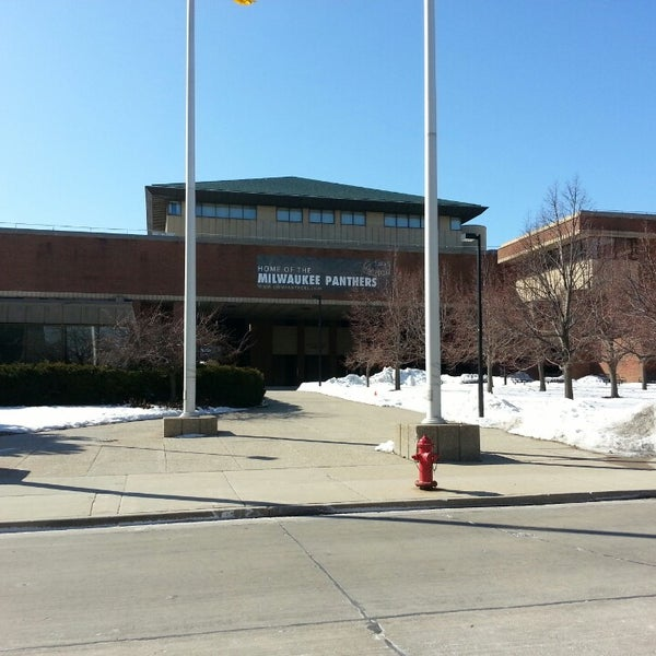 Photo taken at UWM Golda Meir Library by Paul G. on 3/23/2013