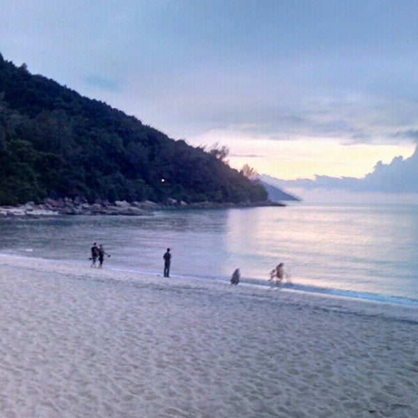 Photo taken at Teluk Bahang Beach by Joe V. on 12/11/2015
