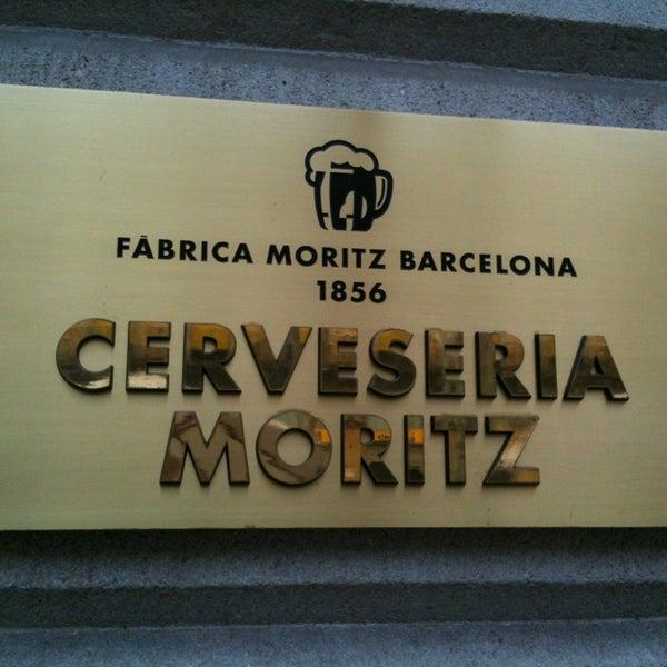 Foto tomada en Fàbrica Moritz Barcelona por J.J. B. el 3/29/2013