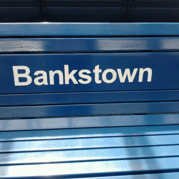 Photo taken at Bankstown Station by Sean S. on 3/10/2013
