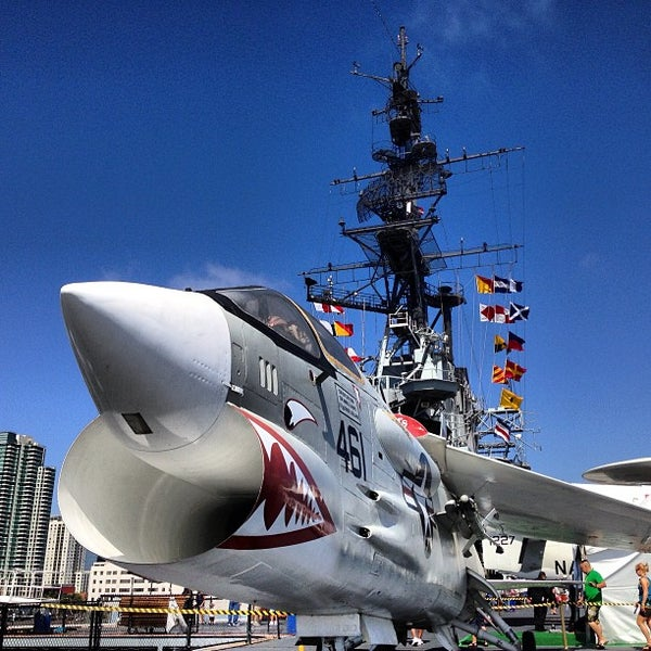 Photo taken at USS Midway Museum by Blake H. on 7/24/2013