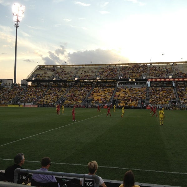 Photo taken at MAPFRE Stadium by Nate F. on 8/17/2013