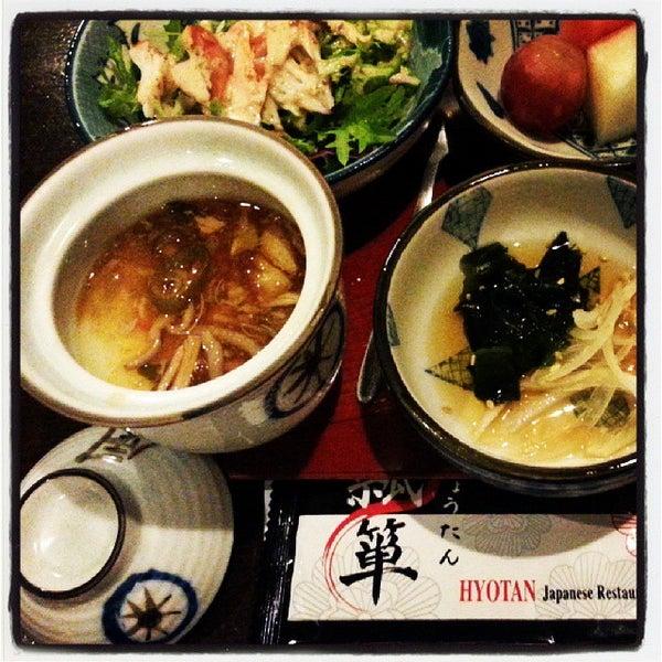 Photo taken at Hyotan Japanese Restaurant by Marlene Y. on 10/21/2013