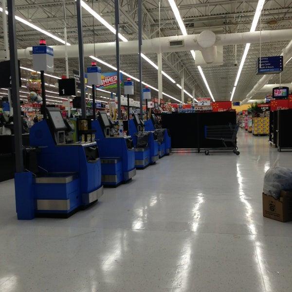 Photo taken at Walmart Supercenter by Sandy F. on 6/6/2013