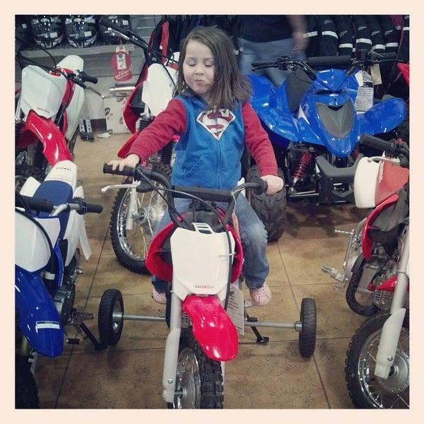 Photo Taken At Honda Yamaha Of Savannah By Michelle E. On 3/13/