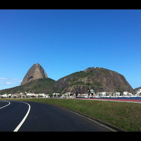 Photo taken at Flamengo Park by Nathalia G. on 9/29/2012