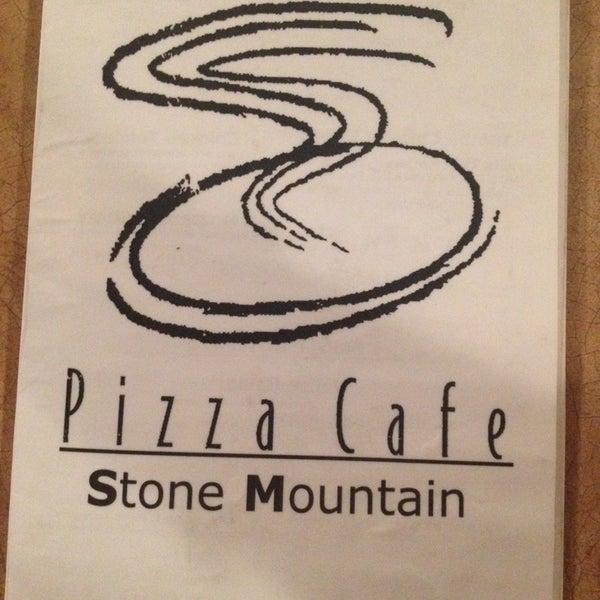 Photo taken at Stone Mountain Pizza Cafe by Manda B. on 9/25/2013