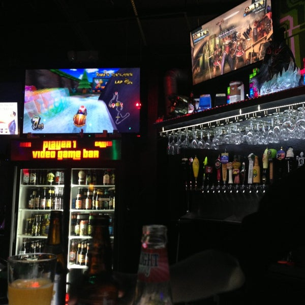 Photo taken at Player 1 Video Game Bar by Omar M. on 8/26/2013