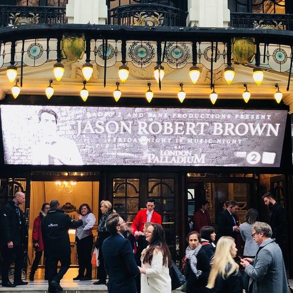 Foto scattata a The London Palladium da Mike P. il 4/11/2018