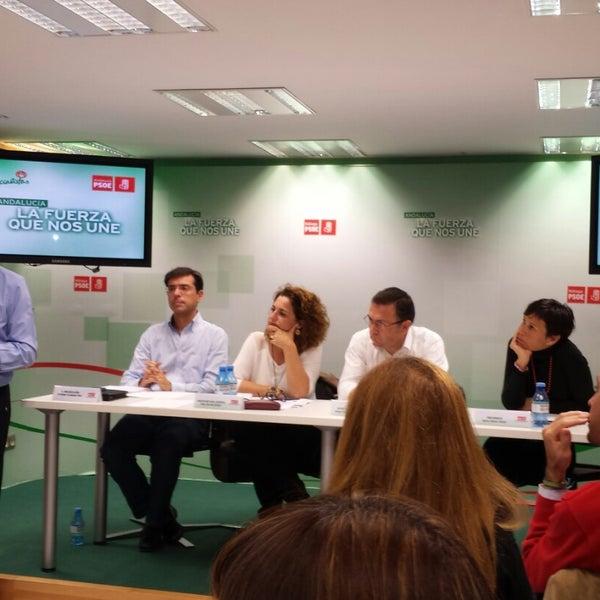 Foto tomada en PSOE de Málaga por Manuel C. el 11/24/2014