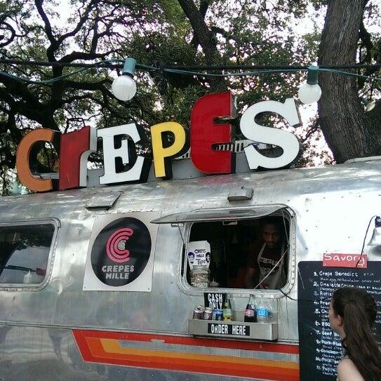 Stuffed Crepe Food Truck