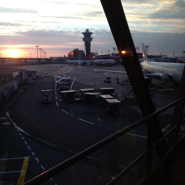 Photo taken at Paris-Orly Airport (ORY) by Julien K. on 5/8/2013