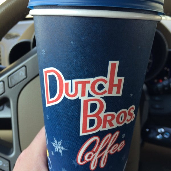 Photo taken at Dutch Bros. Coffee by Russell M. on 1/20/2014
