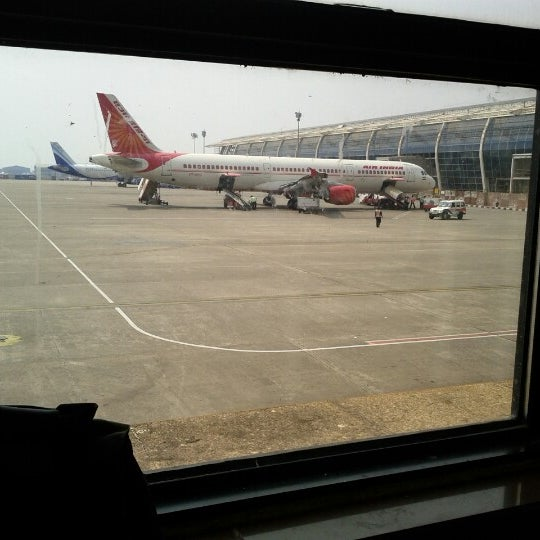 Photo taken at Goa International Airport / Dabolim Airport (GOI) by Ritesh N. on 3/10/2013