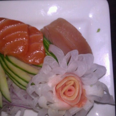 Photo taken at PNK Restaurant & Ultra Lounge by Muse4Fun on 11/9/2012