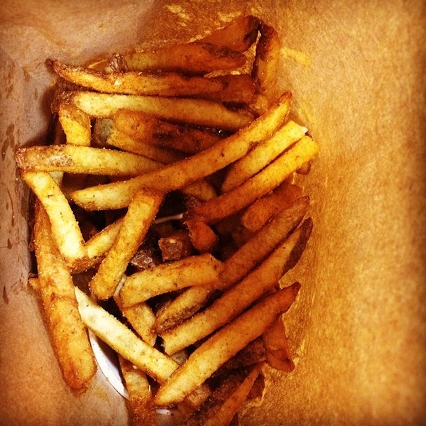 Photo taken at Five Guys by Hunter G. on 2/27/2014