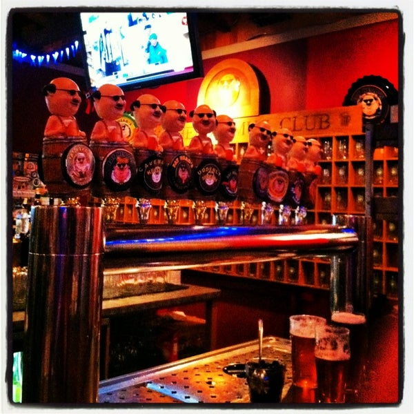 Photo taken at Fat Head's Brewery & Saloon by Bill B. on 1/13/2013