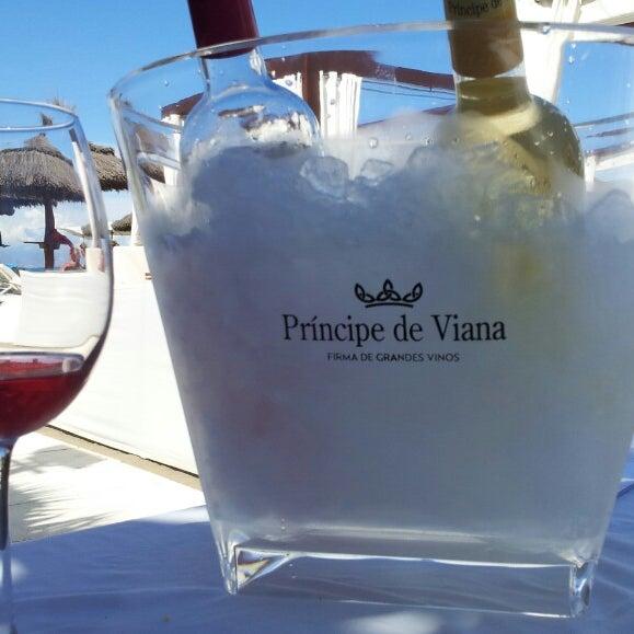 Foto tomada en Playa Miguel Beach Club por María Esperanza B. el 5/24/2014
