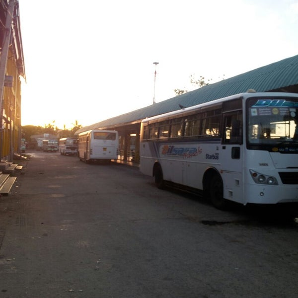Trinco Bus Stand Bus Station