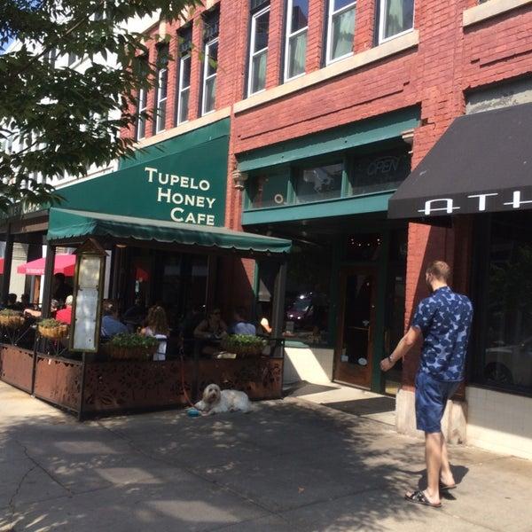 Photo taken at Tupelo Honey by Kelvin L. on 6/27/2016