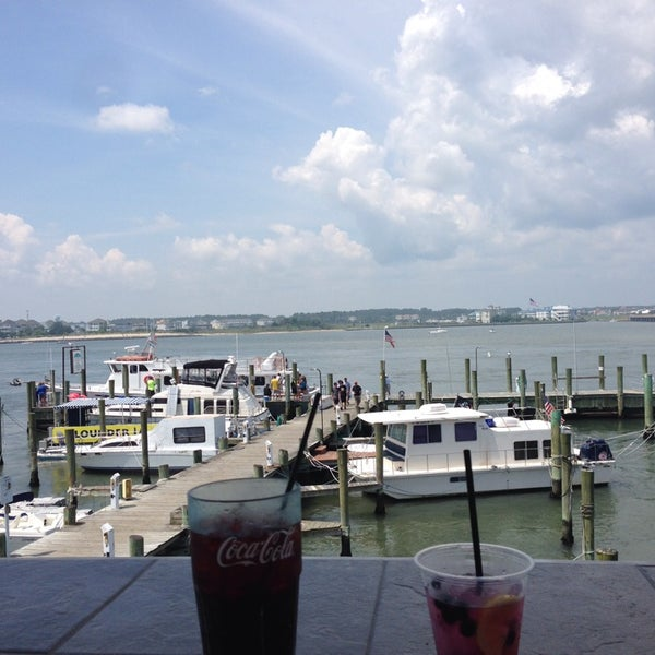 Photo taken at Marina Deck Resturant by Bernie H. on 8/21/2013