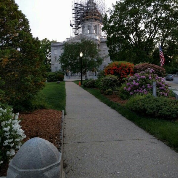 Photo taken at New Hampshire State House by Mike C. on 5/31/2016