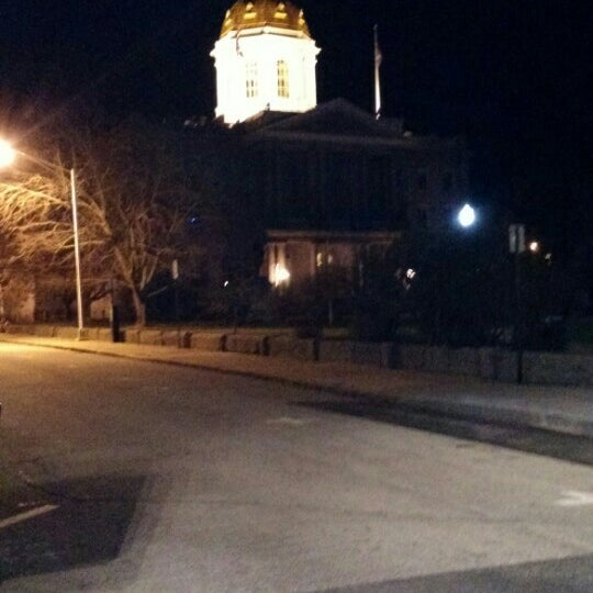 Photo taken at New Hampshire State House by Mike C. on 3/28/2016