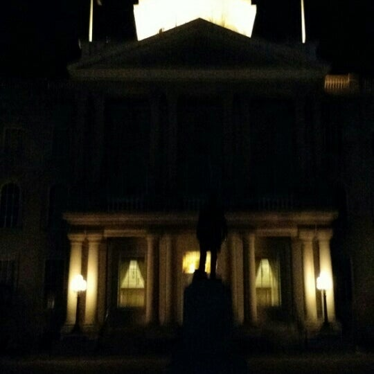 Photo taken at New Hampshire State House by Mike C. on 3/1/2016