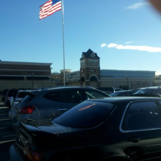 Photo taken at Tanger Outlet Mebane by Yvonne C. on 1/4/2013