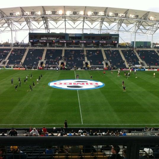 Photo taken at Talen Energy Stadium by David O. on 10/27/2012