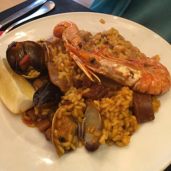 Huge portion of paella, sangria was also excellent, friendly staff, seems like a very neighborhood joint!