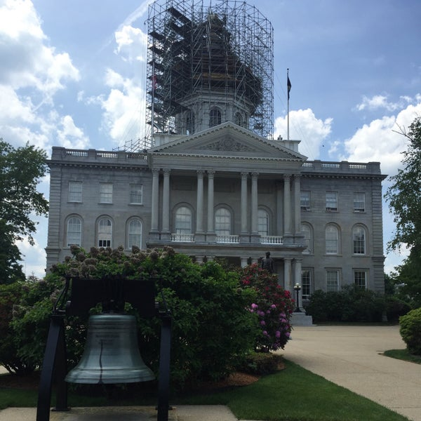 Photo taken at New Hampshire State House by ariq d. on 5/28/2016