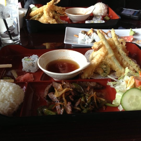 Photo taken at Sushi On The Rocks by Rock P. on 12/27/2012
