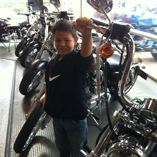 Photo taken at Orange County Harley-Davidson by Patrice P. on 10/21/2012